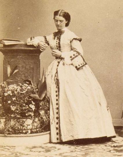 Constance Quéniaux André Adolphe Eugène Disderi 1819 1889 Uti 425