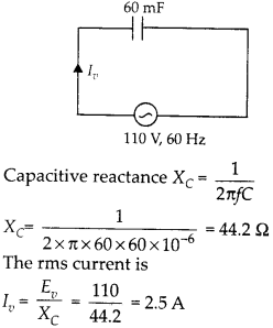 NCERT Solutions for Class 12 Physics Chapter 7 Alternating Current 6