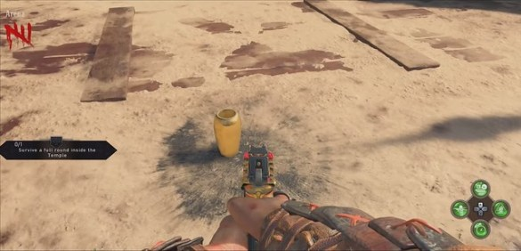 Call of Duty Black Ops 4 IX Golden Flask