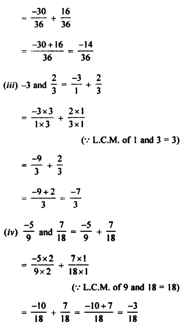 Selina Concise Mathematics class 7 ICSE Solutions - Rational Numbers-c2.....