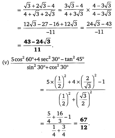 NCERT Solutions for Class 10 Maths Chapter 8 Introduction to Trigonometry 20