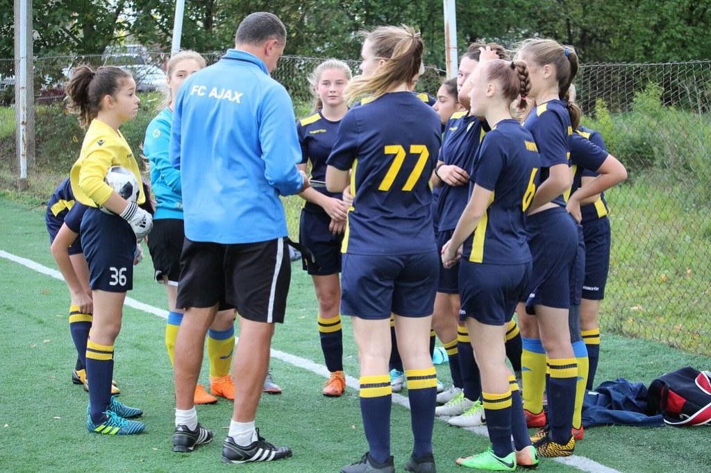 20.09 Girls U15 - FC Ajax vs FC Flora (2018)