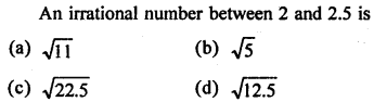 RD Sharma Class 9 Solutions Chapter 1 Number Systems - 1.mcq .19