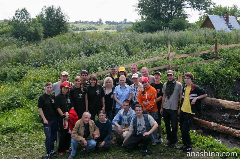 Староладожская археологическая экспедиция, 2008 год