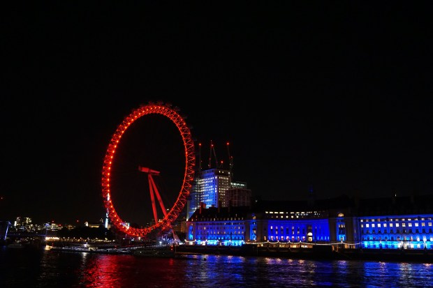Thames and the London Eye