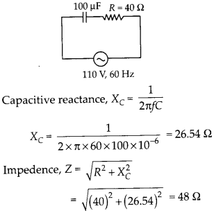 NCERT Solutions for Class 12 Physics Chapter 7 Alternating Current 30