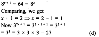 RD Sharma Class 9 Solutions Chapter 2 Exponents of Real Numbers MCQS - 8