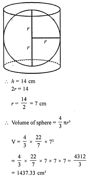 RD Sharma Class 10 Solutions Chapter 14 Surface Areas and Volumes Ex 14.1 58