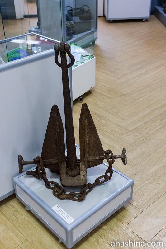Финский корабельный якорь начала XX века, Региональный музей Северного Приладожья, Сортавала