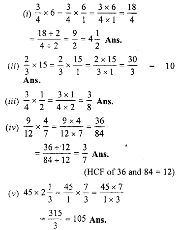 Selina Concise Maths class 7 ICSE Solutions - Fractions (Including Problems)-C2.