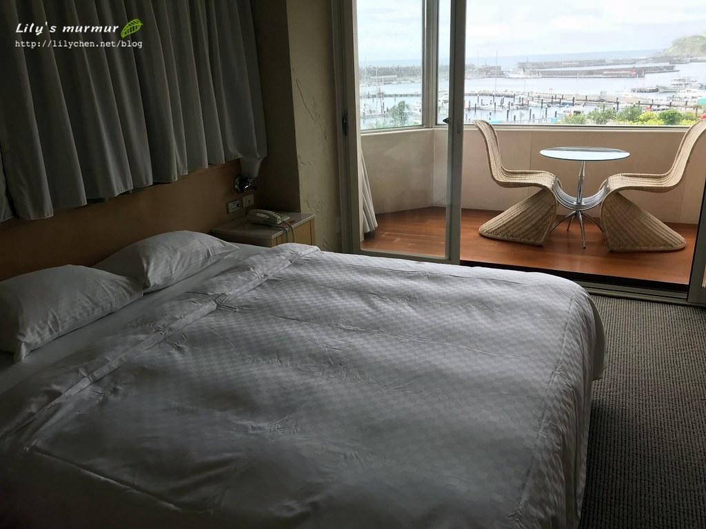 房間其實沒有訂房網站的照片那麼大,但還算舒適。