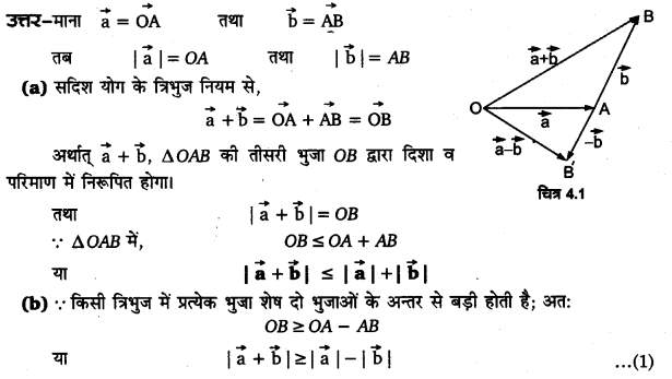 UP Board Solutions for Class 11 Physics Chapter 4 Motion in a plane ( समतल में गति) 6a