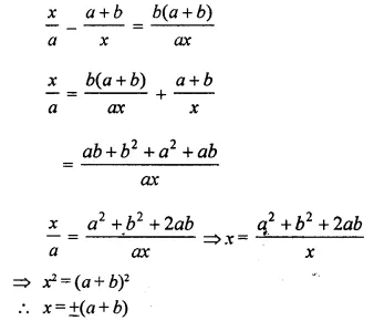 Selina Concise Mathematics Class 10 ICSE Solutions Chapterwise Revision Exercise 24A