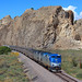 The Southwest Chief at the Devil's Throne