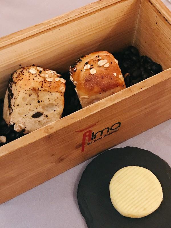 The divine Potato Bread at Alma