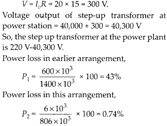 NCERT Solutions for Class 12 Physics Chapter 7 Alternating Current 70