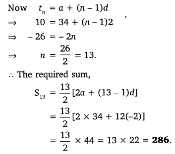 NCERT Solutions for Class 10 Maths Chapter 5 Arithmetic Progressions 51