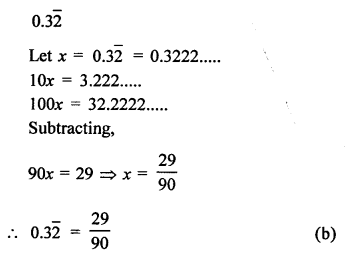 RD Sharma Class 9 Solutions Chapter 1 Number Systems - 1.mcq .15a