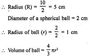 RD Sharma Class 9 Solutions Chapter 21 Surface Areas and Volume of a Sphere Ex 21.2 29