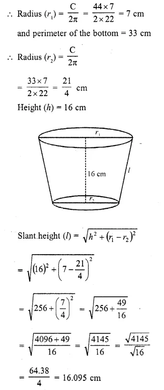 RD Sharma Class 10 Solutions Chapter 14 Surface Areas and Volumes Ex 14.3 4