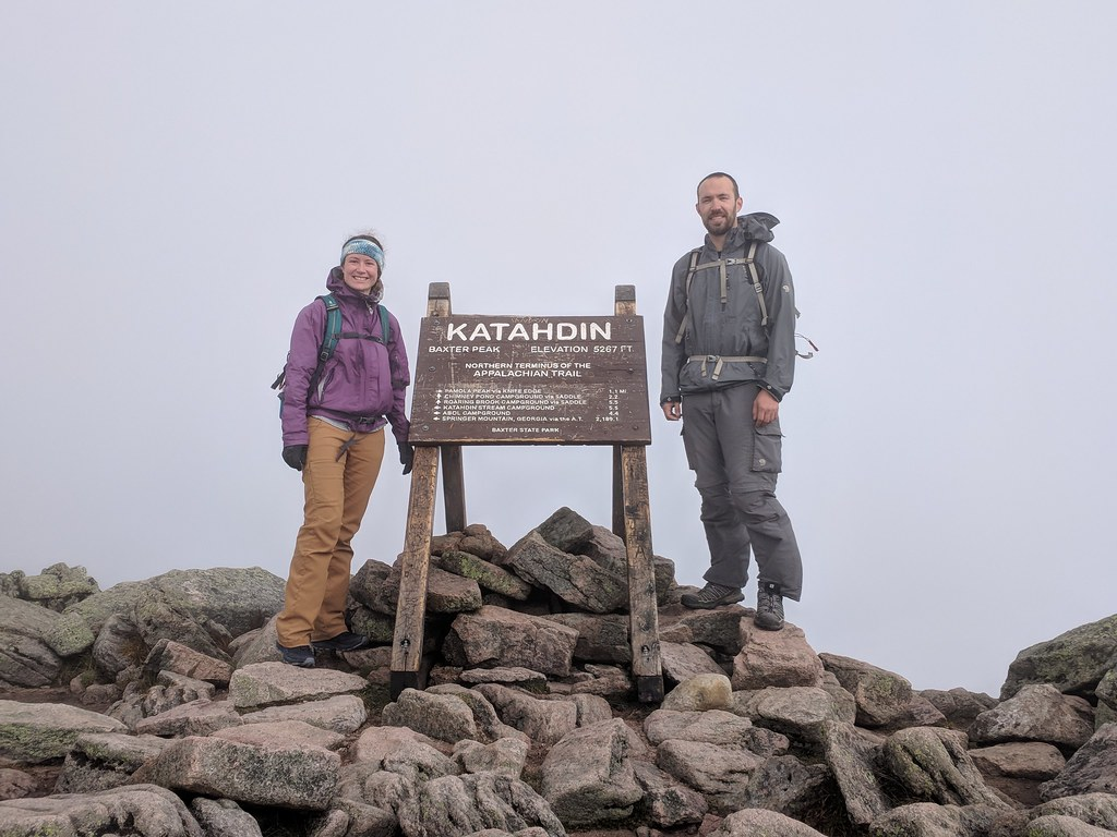 Summit of Mount Katahdin