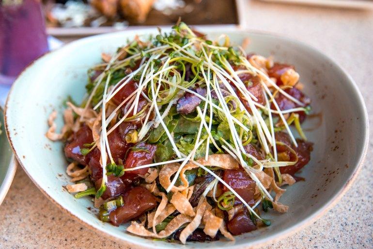 PF Chang's Waikiki Restaurant Fresh Hawaiian Ahi Poke Salad