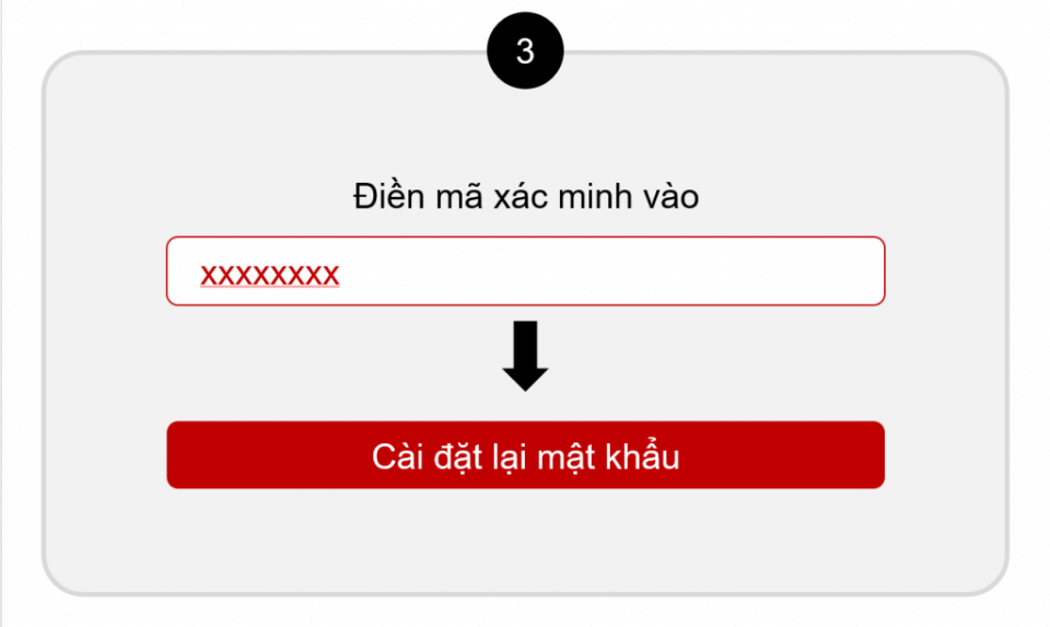 Điền mã xác minh để tiến hành reset mật khẩu hikvision qua email