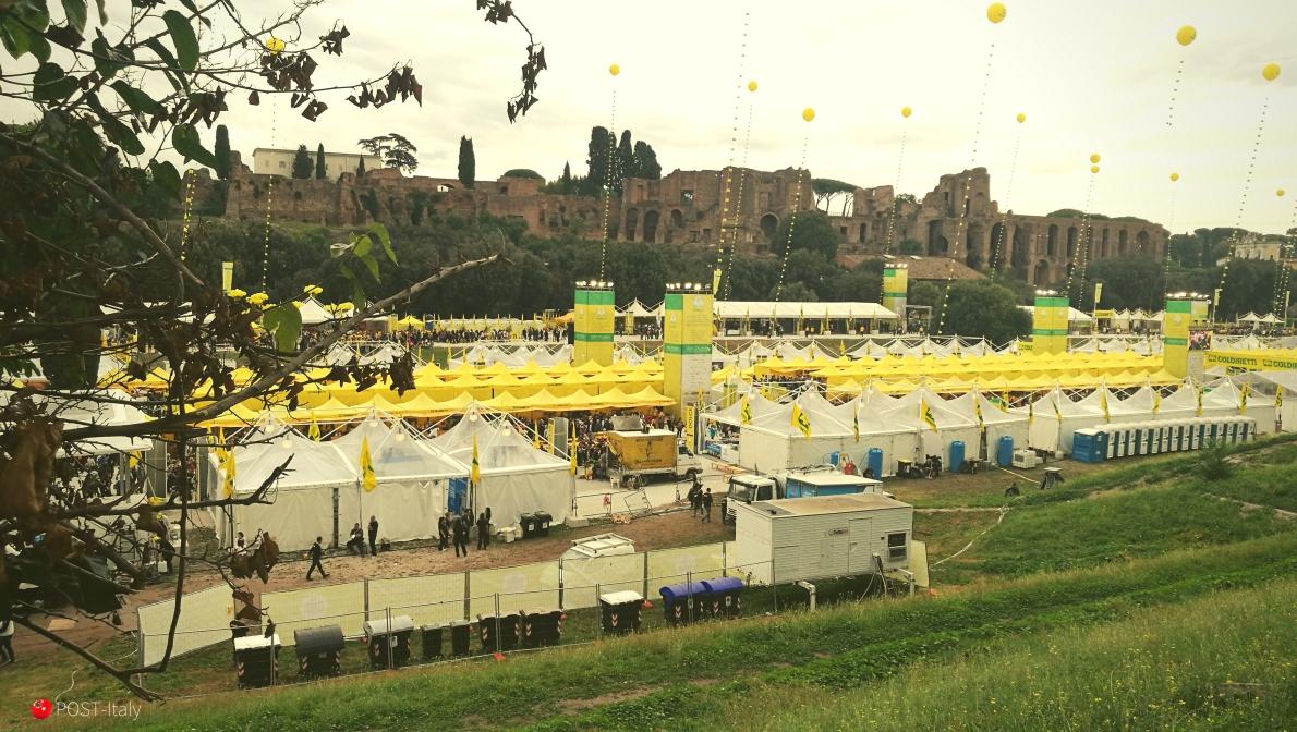 Feira em Roma - Villaggio Coldiretti