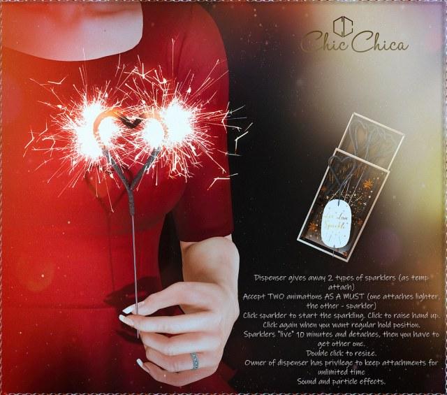 Sparkler Dispenser by ChicChica @ Equal10