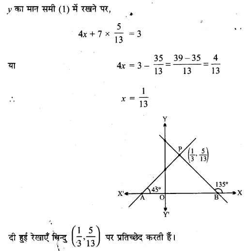 UP Board Solutions for Class 11 Maths Chapter 10 Straight Lines 12.1
