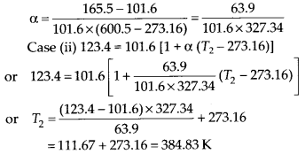 NCERT Solutions for Class 11 Physics Chapter 11Thermal Properties of matter 1