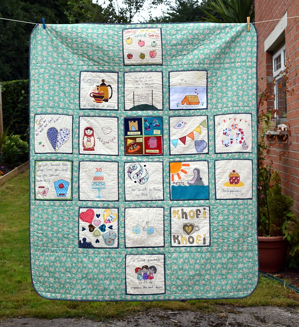 Shirley's Friendship Birthday Quilt