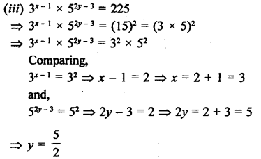 RD Sharma Class 9 Solutions Chapter 2 Exponents of Real Numbers Ex 2.2 - 16aaa