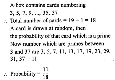 RD Sharma Class 10 Solutions Chapter 16 Probability Ex 16.1 44