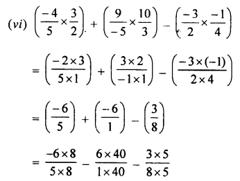 Selina Concise Mathematics class 7 ICSE Solutions - Rational Numbers-d3...........
