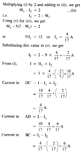 NCERT Solutions for Class 12 physics Chapter 3.11