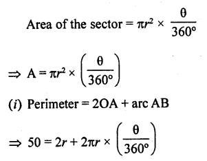 RD Sharma Class 10 Solutions Chapter 13 Areas Related to Circles Ex 13.2 - 27a