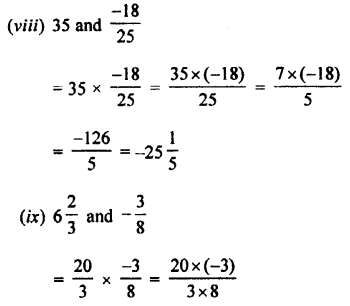 Selina Concise Mathematics class 7 ICSE Solutions - Rational Numbers-d2......