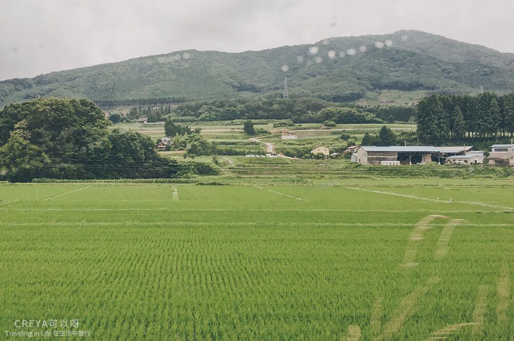 2018.10.05 | 行走在日本東北 | 用雙腳初識福島,這是我五天四夜的路徑線索 02