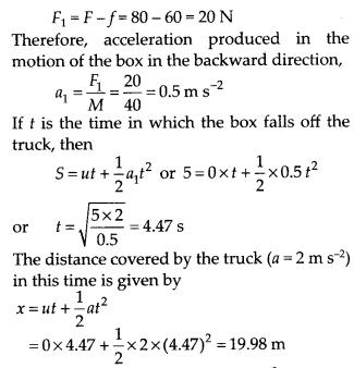NCERT Solutions for Class 11 Physics Chapter 5 Law of Motion 39