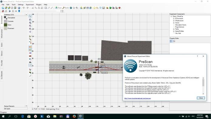Working with TASS International PreSCAN 8.5.0 Win64 full license