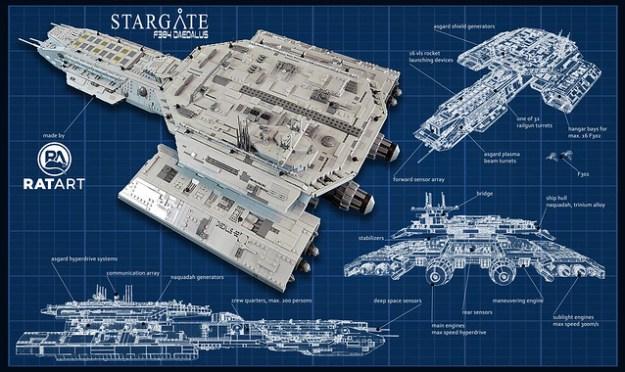 星际之门SG 1 F304代达罗斯