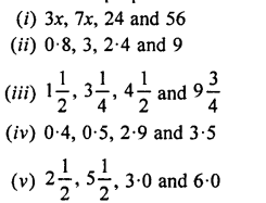 Selina Concise Mathematics class 7 ICSE Solutions - Ratio and Proportion (Including Sharing in a Ratio) -b1