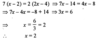 Selina Concise Mathematics class 7 ICSE Solutions - Simple Linear Equations (Including Word Problems) -b17