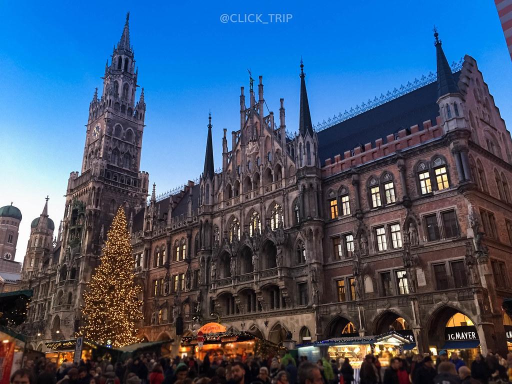 Marienplatz | Ubicación de uno de los mejores mercadillos de Navidad de Alemania
