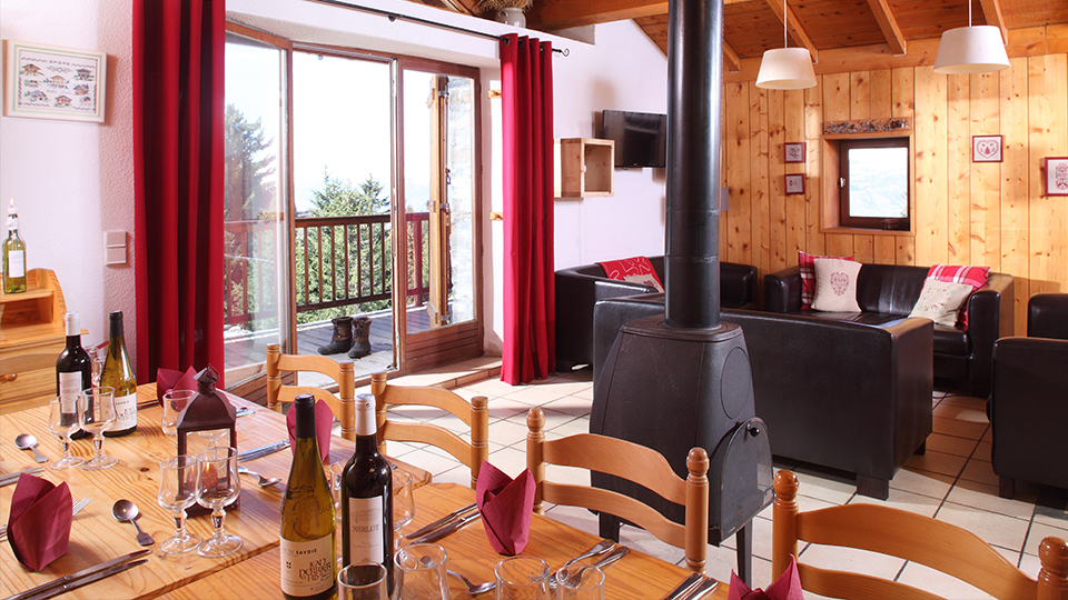 Cicero, Chalet in Les Arcs, France, Dining