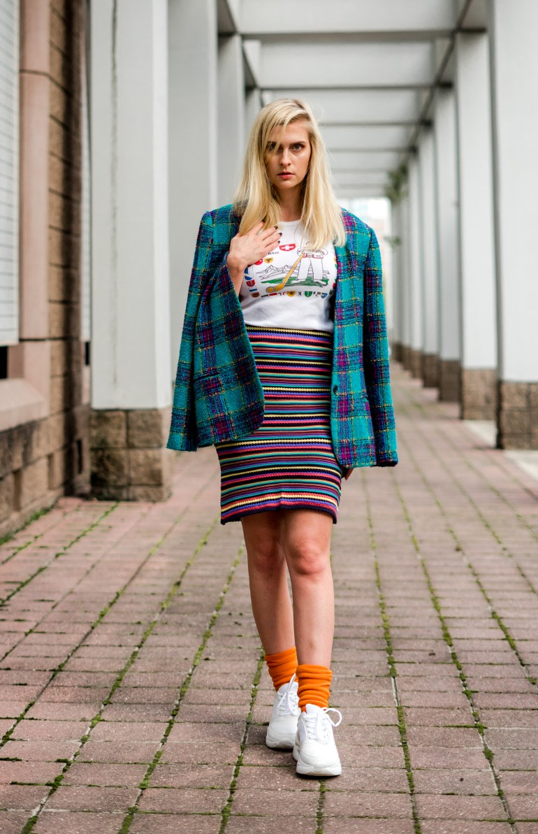 Heirloomen Vintage - Bold & Bright Outfit