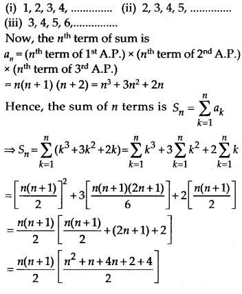 NCERT Solutions for Class 11 Maths Chapter 9 Sequences and Series 73