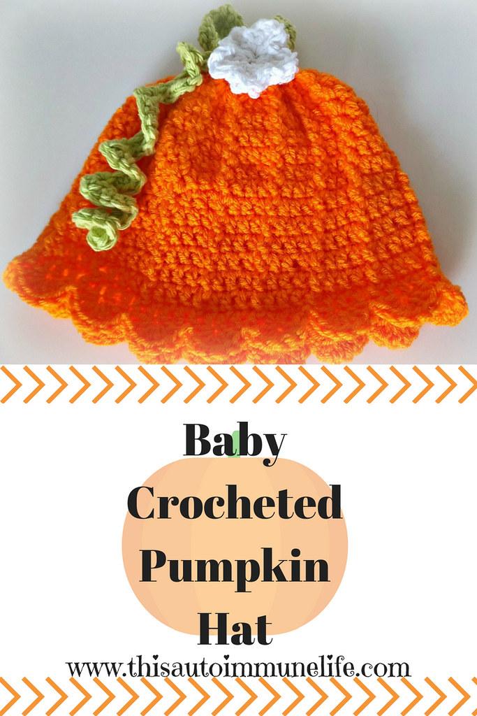 BabyCrochetedPumpkinHat Pinterest