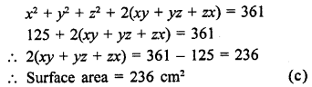 Class 9 Maths Chapter 18 Surface Areas and Volume of a Cuboid and Cube RD Sharma Solutions
